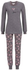 Bündchenpyjama 'you' Ringella charcoal grey