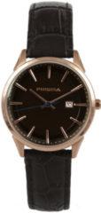 Prisma Stainless Steel Dames horloge P1572 - Leer - Bruin