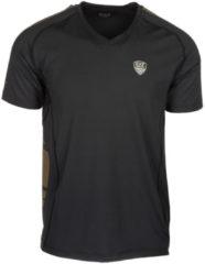 Nero Emporio Armani EA7 T-shirt maglia maniche corte collo a v uomo