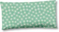 Groene 2x Trendy Katoen/Satijn Sierkussenhoezen | 40x80 | Subtiele Glans | Luxe En Zacht