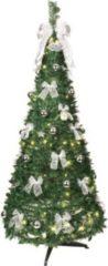 LED-Weihnachtsbaum, aufziehbar, 144 LED's, gold
