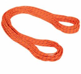 Mammut - 7.5 Alpine Sender Dry Rope - Half touw maat 50 m, oranje/rood