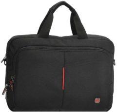 Zwarte Enrico Benetti Cornell Laptoptas 14'' black