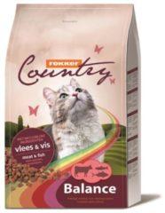 Fokker Country Balance Cat Vlees&Vis - Kattenvoer - 10 kg - Kattenvoer