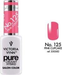 Roze Gellak Victoria Vynn™ Gel Nagellak - Gel Polish - Pure Creamy Hybrid - 8 ml - Cupcake Pink - 125
