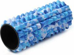 Blauwe Fasciarol - camouflage Massagerol YOGISTAR