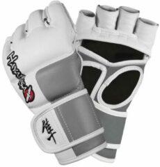Hayabusa Tokushu MMA Handschoenen - 4 oz - wit, grijs - maat XL