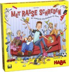 Haba Spel - Met rasse schreden - Chaos in de puberkamer - 5+