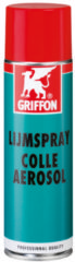 Griffon spray spuitbus, transparant, spray lijm, inzetbereik universeel, 500ml
