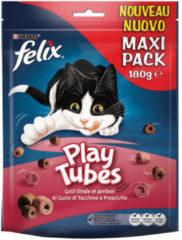Felix Play Tubes Kalkoen&Ham - Kattensnack - 180 g