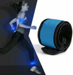 Running Geeks LED Running Armband Blauw