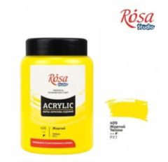 Gele Rosa Studio Acrylverf 400 ml 409 Yellow