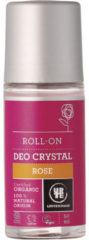 Urtekram Deodorant crystal roll on rozen 50 Milliliter