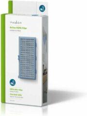Nedis HEPA-Vervangingsfilter   Geschikt voor merken: Miele   Blauw / Wit VCFI214HEP