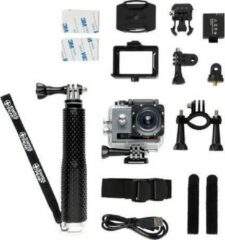 Grijze Swiss Peak Action Camera Set