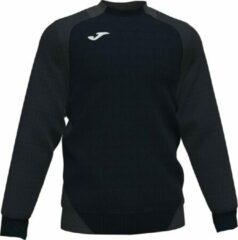Joma Essential II Sweater Heren - Zwart / Antraciet   Maat: XL