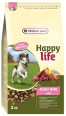 Versele-laga HAPPY LIFE ADULT MINI LAMB HONDENVOER #95; 3 KG