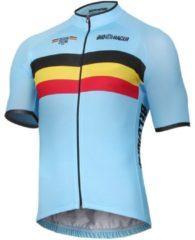 Bioracer BELGISCH NATIONAAL TEAM Fietsshirt met korte mouwen 2019 fietsshirt met korte