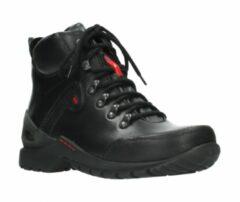 Hoge Sneakers Wolky 06500 City Tracker - 30000 zwart leer
