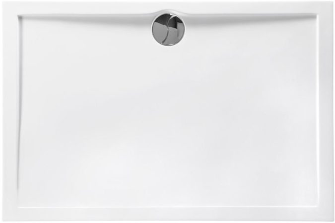 Afbeelding van Witte Douchebak Allibert Slim 120x80 cm