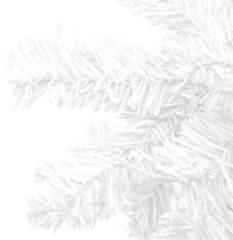 VidaXL Kunstkerstboom wit L 240 cm