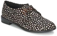 Zwarte Nette schoenen F-Troupe Bow Polka
