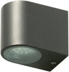 Grijze Ranex Bastia SMD LED Buitenverlichting - Gevelverlichting - 80 x 67 x 95 mm