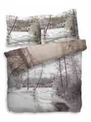 Beddinghouse Heckett & Lane Berk - Dekbedovertrek - Tweepersoons - 200x200/220 cm + 2 kussenslopen 60x70 cm - Bruin
