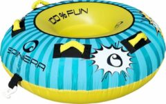 Blauwe Spinera Wild Bob Funtube - Opblaasband - Boot Accessoires - Band Achter Boot - Band Boot