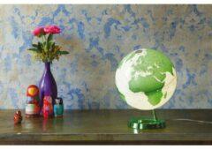 Atmosphere NR-0331F7N4-GB Globe Bright HOT groen 30cm Diameter Kunststof Voet Met Verlichting