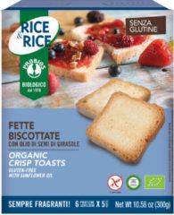 PROBIOS Srl Rice&Rice Fette Biscottate Con Olio Di Semi Girasole Senza Glutine 300g (6x50g)