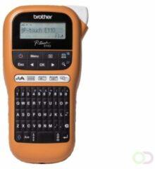 Brother PT-E110VP Direct thermisch Kleur 180 x 180DPI Zwart, Oranje labelprinter