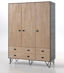 Vipack Furniture Vipack Kleiderschrank William 3-trg.