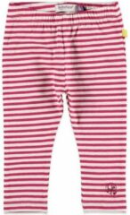 Roze Babyface gestreepte legging (Roos) - 68