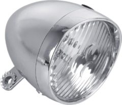 Dresco Fietskoplamp - Classic - 3 LEDs - Chroom