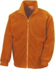 Oranje Result Heren Outdoorvest Maat XL