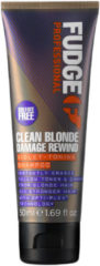FUDGE CARE CLEAN BLONDE DAMAGE REWIND VIOLET-TONING SHAMPOO BLOND/BESCHADIGD HAAR 50ML