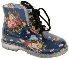 Blauwe Gevavi Boots Yara meisjes- en dameslaars pvc blauw 28