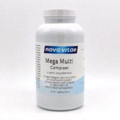 Nova Vitae Voedingssupplementen Mega Multi Compleet 200 Tabletten
