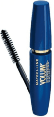 Zwarte Maybelline New York Volum'Express mascara - black