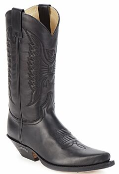Afbeelding van Zwarte Laarzen Sendra boots FLOYD