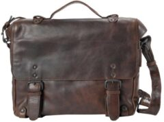 """Aunts & Uncles The Workmates Brain Business Bag with Notebook Compartment 13"""" humus"""
