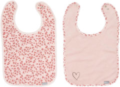 Roze Bébé-jou Bebe-Jou Leopard Slab 2 Stuks Pink