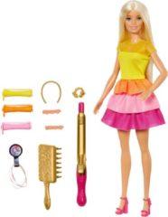 Mattel Barbie Ultieme Krullen Barbiepop en Speelset