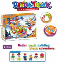 Rode SEOS Shop ® Knikkerbaan 70 Delig | Creëer uw eigen Knikkerbanen