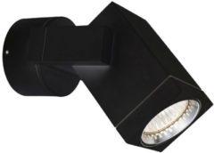 K.S. Verlichting KS Verlichting Cubic Buitenspot Zwart - 11,5 x 14,5 cm