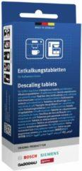Blauwe Bosch, Siemens, Neff, Gaggenau Bosch TCZ8002 / Siemens TZ80002 2in1 Ontkalkingstabletten – 3 Stuks