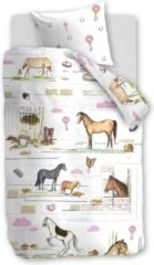 Beddinghouse Beddinghouse Kids Horse Ranch Dekbedovertrek - Multi 100 x 135