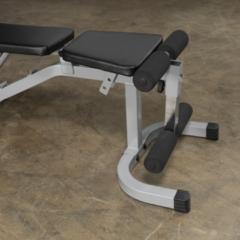 Zwarte Body-Solid Powerline Pfid130x Flat Incline/decline Bench