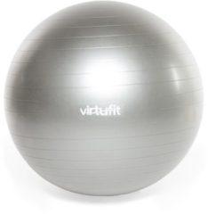 Swiss ball - VirtuFit Anti-Burst Fitnessbal Pro - Gym Ball - met Pomp - Grijs - 45 cm